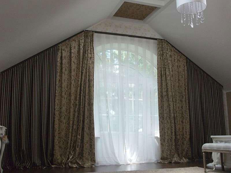 шторы для мансарды фотогалерея